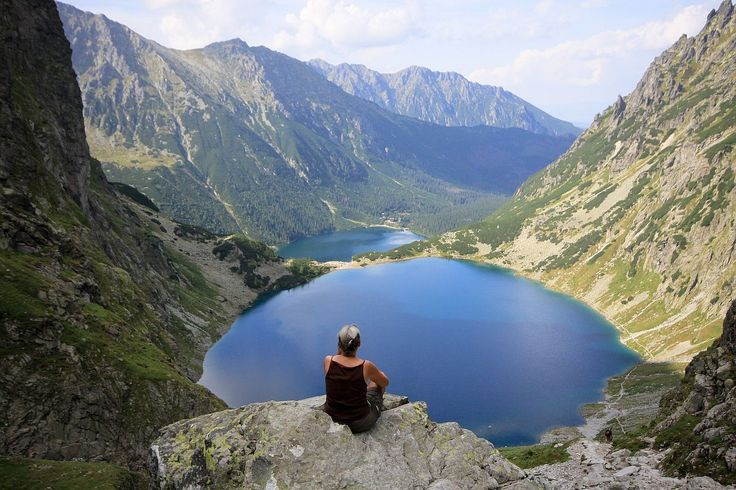 #Hike the Highest Mountains in Poland // POLAND HIGHLIGHTS  The #Tatra #Mountains, which are also part of the #UNESCO World #BiosphereReserve, boast stunning natural #scenery, high-lying #lakes, hanging #valleys, and summer and winter sports resorts. A natural border between #Slovakia and Poland, you can see the two nations atop the highest peak. See what else you can get up to in #Poland: http://bit.ly/PolishAdventures  #ThisIsAdventure #AdventureTravel #Adventure #Travel   polandmfa…