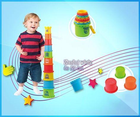 Budowanie, liczenie i dobra zabawa! Tak w skrócie można opisać Kubeczkową Wieżę! Do dyspozycji małych budowniczych jest aż 10 kubeczków o różnych kolorach i wielkościach, które sprawdzą się nie tylko w domu, ale i w piaskownicy.  Sprawdźcie szczegóły: http://dumeldiscovery.pl/seria_kreaty…/kubeczkowa_wieza.html