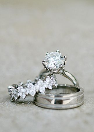 Wedding rings | Kristyn Hogan | blog.theknot.com