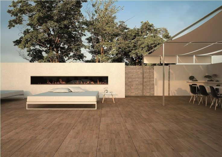 Sundeck by Mirage / SD02 / www.mirage.it / Three simple colours, attention to detail and a careful selection of surfaces, for a porcelain stoneware version of wooden flooring in a collection specifically designed for outdoor areas.  #design #architecture #tile #ceramics  #living #home #floor #outdoor #modern #minimalism