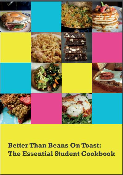Sick of beans on toast? Check out our Essential Student Cookbook with contributions from a range of fab bloggers!