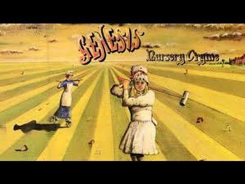 Genesis Nursery Cryme Album Review