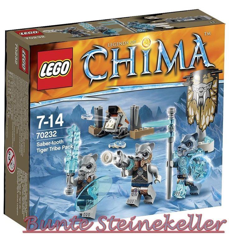 LEGO® Chima: 70232 Säbelzahntigerstamm-Set ! NEU & OVP ! in Jeux, jouets, figurines, Lego   eBay