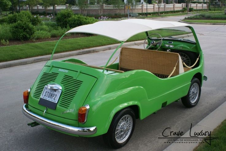 '61 Fiat Moretti 75 Multipla Mare
