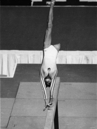 olympic games 1976: russian gymnast nadia comaneci