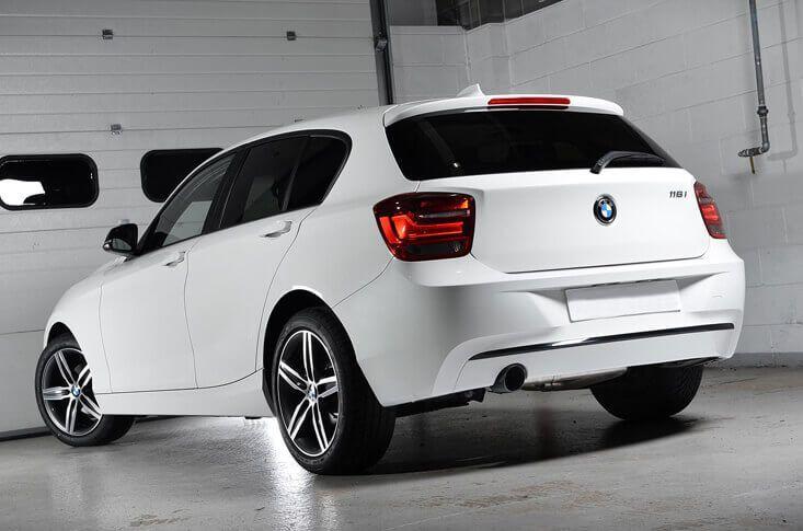 BMW 116i Back