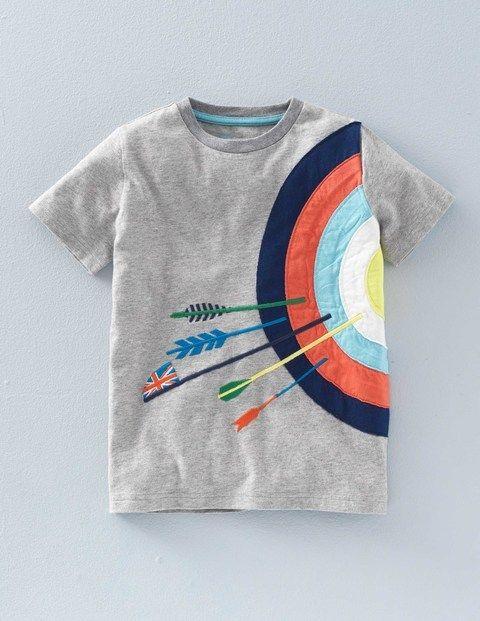 T-shirt Appliqué Sport 21889 Tops & T-shirts chez Boden