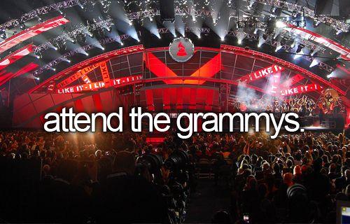 Attend the Grammys / Bucket List Ideas / Before I Die
