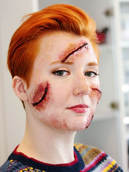 See 4 Insane Halloween DIYs From This 15-Year-Old Makeup Artist: Expert Advice: allure.com