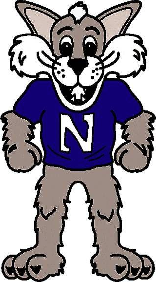 northwestern wildcats mascot logo
