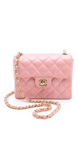 most ridiculous Mini Chanel bag I've ever seen! WGACA Vintage Chanel Mini Bag    buy here: http://rstyle.me/~tQGE