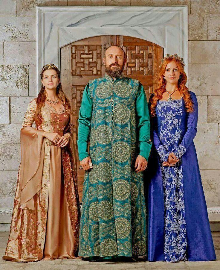 Muhtesem yuzyil series - sultan sulejman turkish costumes 16th century
