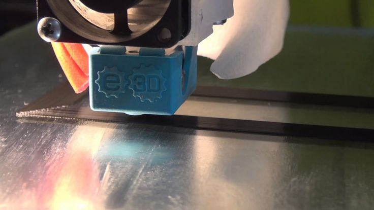 3D Printing ( Test with E3D-v6 Hotend)
