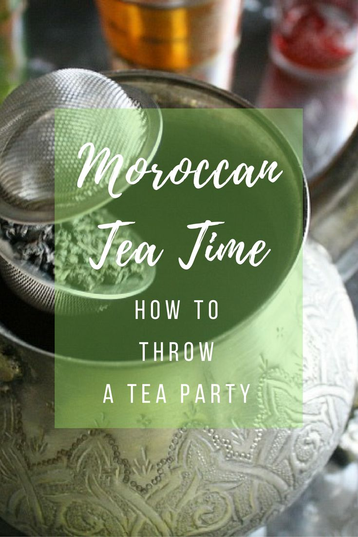 Host your own Moroccan tea party with these traditional drink and sweets recipes. It's easy to put together!