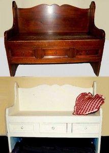 Riverniciare i mobili: Come ridipingere un mobile in legno e quali prodotti usare