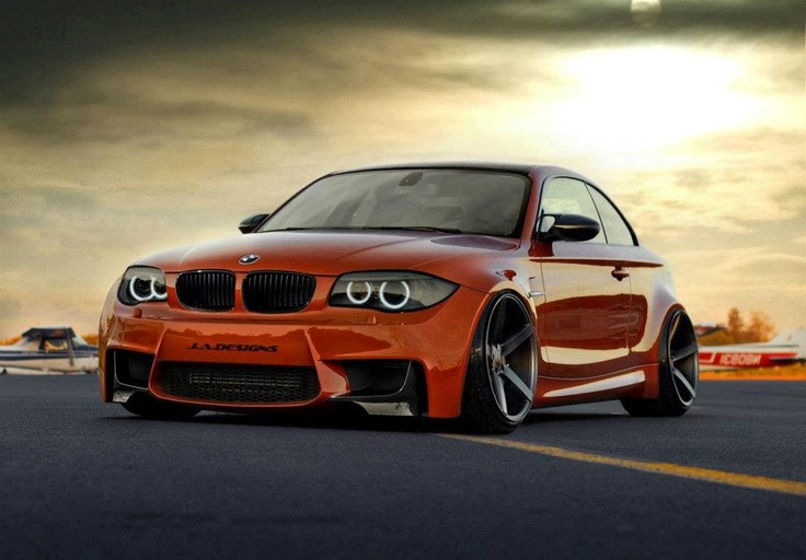 BMW 1M Coupe. Saw this on Top Gear. Didn't like it at first, but it's honestly a little beast ♥