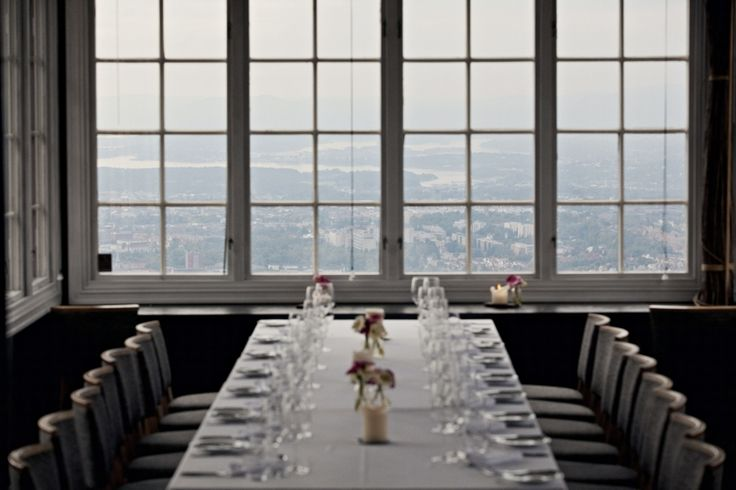 Breathtaking view + Resturant & Bar, Grefsenkollen, Oslo, Norway