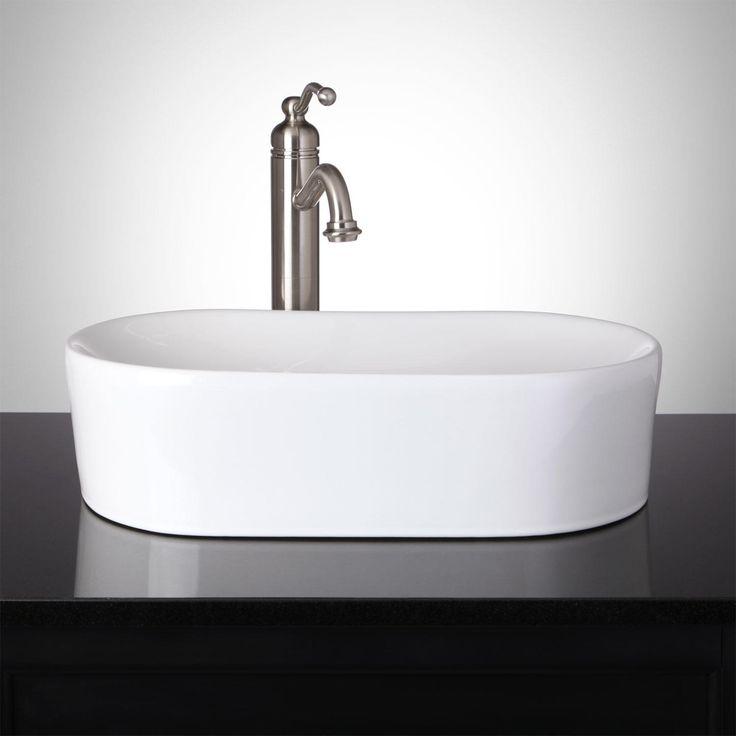 Kirch Oval Infinity Vessel Sink With Images Vessel Sink Bathroom Sink