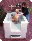 New Breed Dog Baths - Photo Gallery of the New Breed Dog Bath for small and large dogs