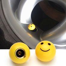 2 pz pneumatico air valve cap pneumatici wheel dust gambi del fronte di sorriso  Caps bolt in tipo di valvola della rotella ventil per auto auto camion moto  # Hp(China (Mainland))