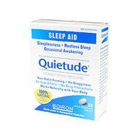 Boiron Quietude, 60 Tabs by Boiron. Save 28 Off!. $8.01. Temporarily relieves occasional sleeplessness and/or restless sleep.. For temporary relief of occasional sleeplessness and/or restless sleep.