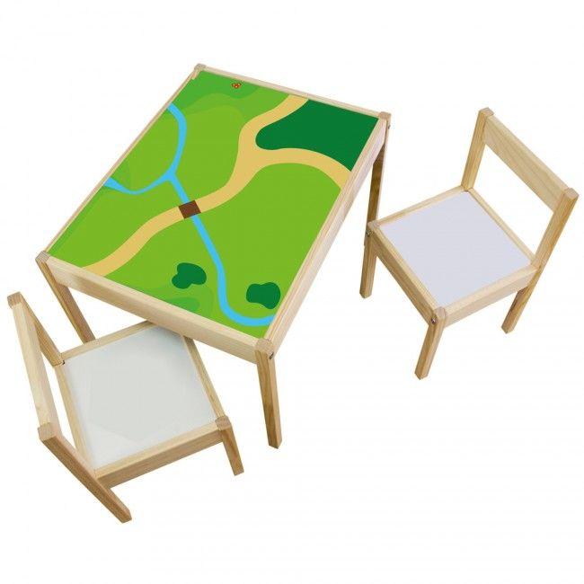 Möbelfolie Spielwiese Für LÄTT Kindertisch