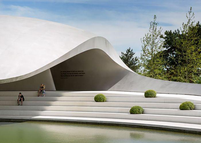 Porsche Pavilion in Wolfsburg by HENN | Inspiration Grid | Design Inspiration