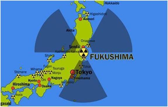 Tutto il Giappone è contaminato