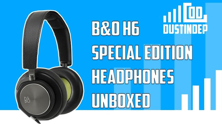 Check out the Awesome B&O H6 Headphones! Some of the classiest headphones I've ever seen!
