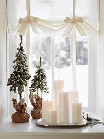 Pretty #Christmas #window #display.