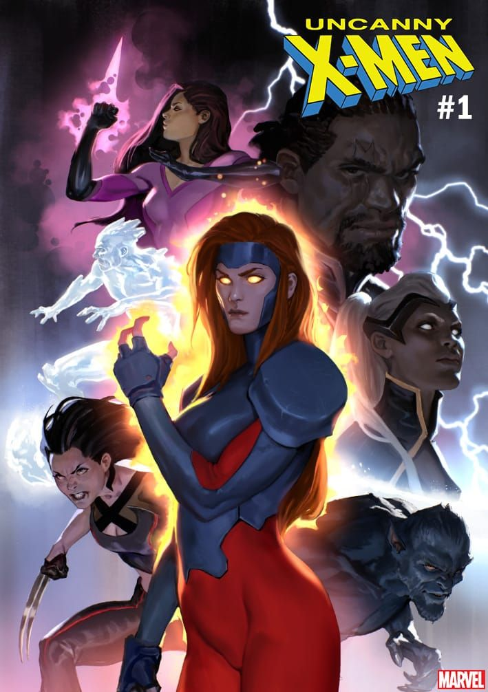 Uncanny X Men 1 Variant Cover By Marko Djurdjevic X Men Marvel Comics Art Comic Book Girl