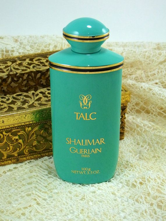 Shalimar Guerlain Vintage Body Talc by WhatnotsAndFancifuls