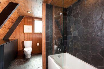 modern bathroom by Popp Littrell Architecture + Interiors