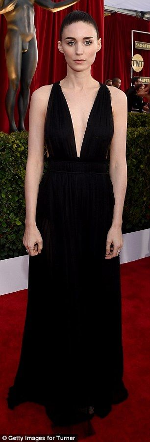 Rooney Mara at the 22nd Annual Screen Actors Guild Awards at The Shrine Auditorium in Los Angeles, California on (January 30, 2016) Saturday