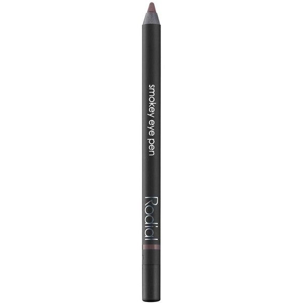 Rodial Smokey Eye Pen - Colour Brown ($23) ❤ liked on Polyvore featuring beauty products, makeup, eye makeup, pen eyeliner and rodial