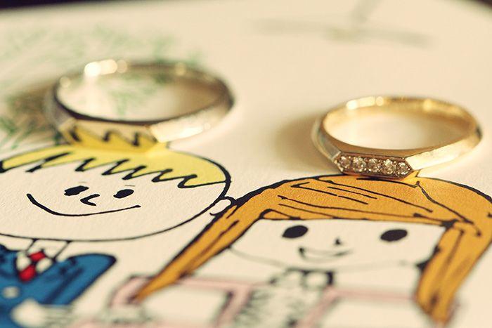 Ring / 結婚指輪 / 新郎 / 新婦 / crazy wedding / ウェディング / 結婚式 / オリジナルウェディング/ オーダーメイド結婚式