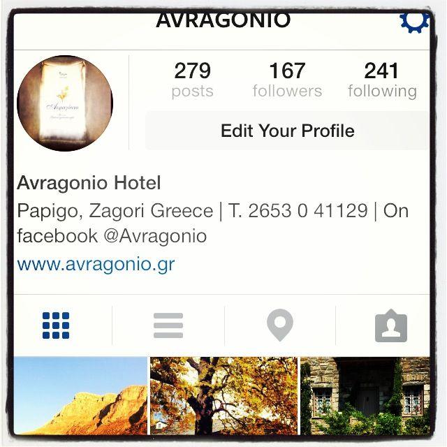 Now follow US on Instagram @Avragonio!!!