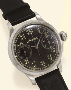 Minerva Chronograph - Vintage (Now taken over by MontBlanc)