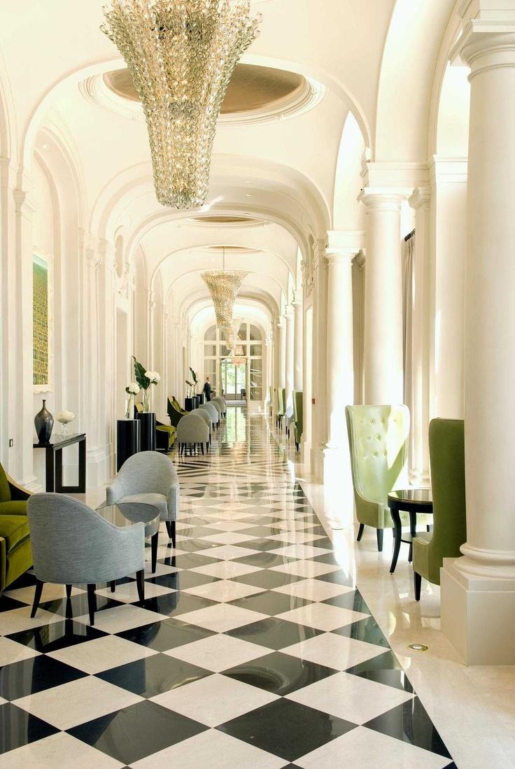 Lobby at Hotel Trianon