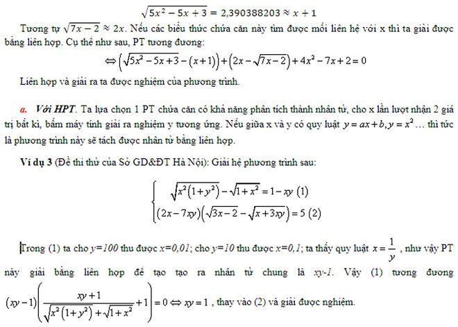 5 cách giải quyết câu hỏi điểm 9 trong đề thi môn Toán - Lop12.vn - Cộng đồng học sinh lớp 12