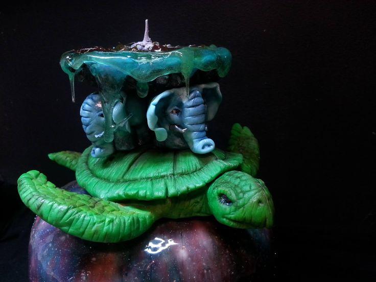 DISCWORLD TERRY PRATCHETT CAKE BY PAU
