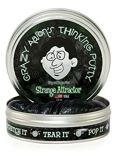 Crazy Aarons Thinking Putty 3.2 Ounce Super Magnetic Strange Attractor