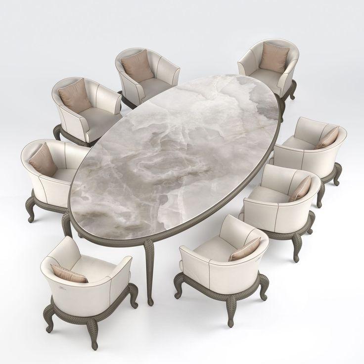 1000 id es sur le th me table ovale sur pinterest tables for Table a manger ceramique