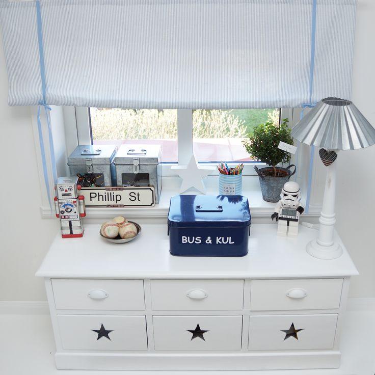 Star, stars and stripes, boys room, boysroom, inspiration, light blue, pojkrum, molban, barnrum