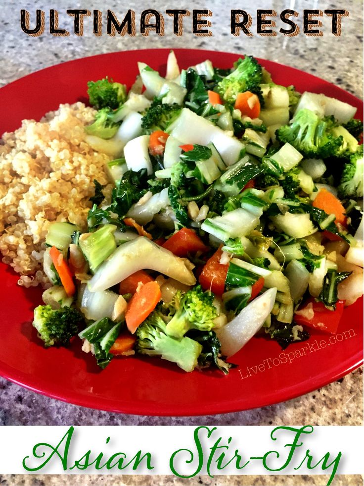 Ultimate Reset Asian Stir-Fry
