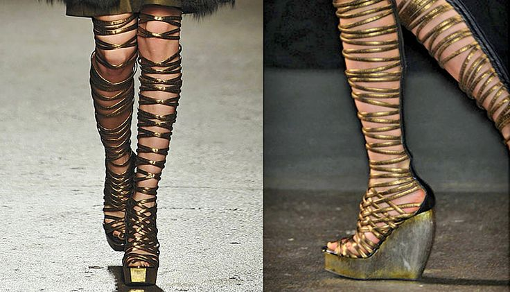 Love these ummm boots...or are they sandals...whatever they are, they are fabulous!