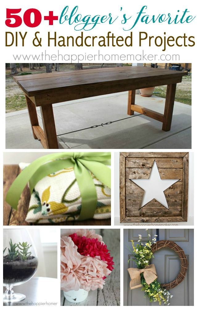 100 DIY and Handcrafted Projects