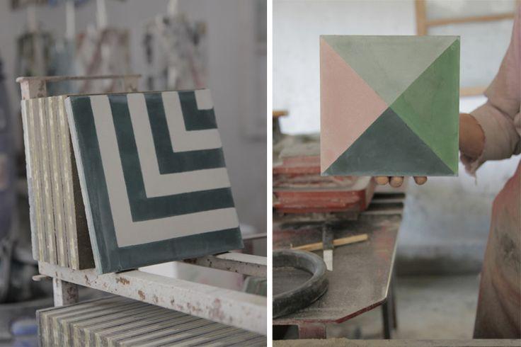 Popham Tiles (I love the one on the left) : Graceu0026#39;s Dream Home ...