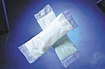 "Medline Perineal Warm & Cold Pads - Deluxe Cold Pad 4 1/2"" x 14 3/4"" - Qty of 24 - Model MDS148055 by Medline. $32.00. Perineal Warm & Cold Pads: These pads are highly absorbent so they don't need to be changed as often. The result-less bother for the patient, less labor for the nurse. Cold pads are applied intermittently for 36-48 hours after delivery. Warm pads are applied for 3-4 days after perineal cold therapy. Premium pads have an hourglass shape with tape tabs at front..."