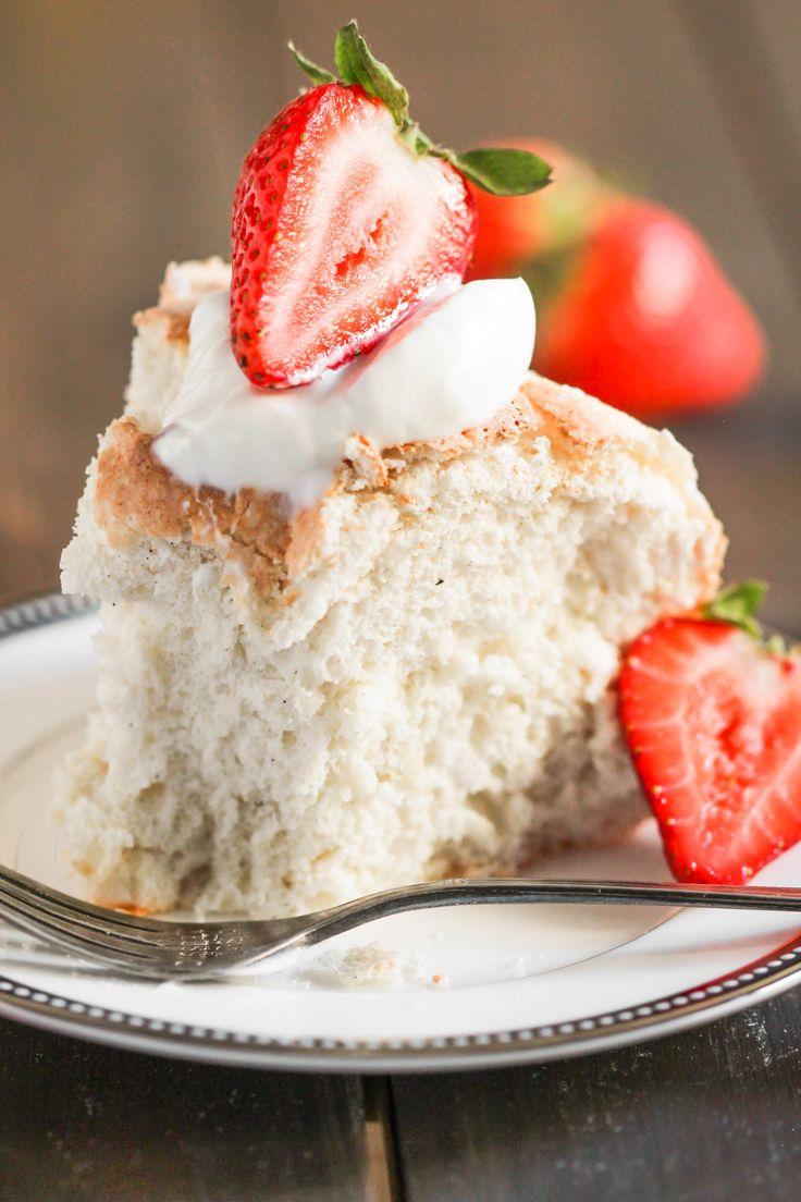 Fat Free Angel Food Cake Recipe